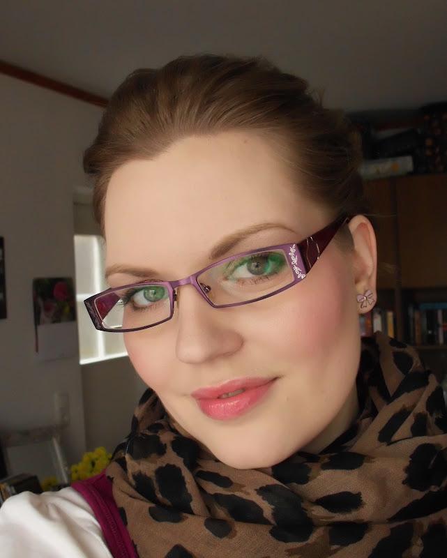 Erdbeerhonig: Ich + Brille = ... schaut selbst ...