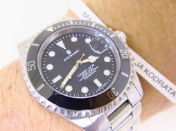 STEINHART OCEAN ONE DIVER 1000ft / 300m BLACK DIAL CERAMIC BEZEL - AUTOMATIC-MINT CONDITION PART  B