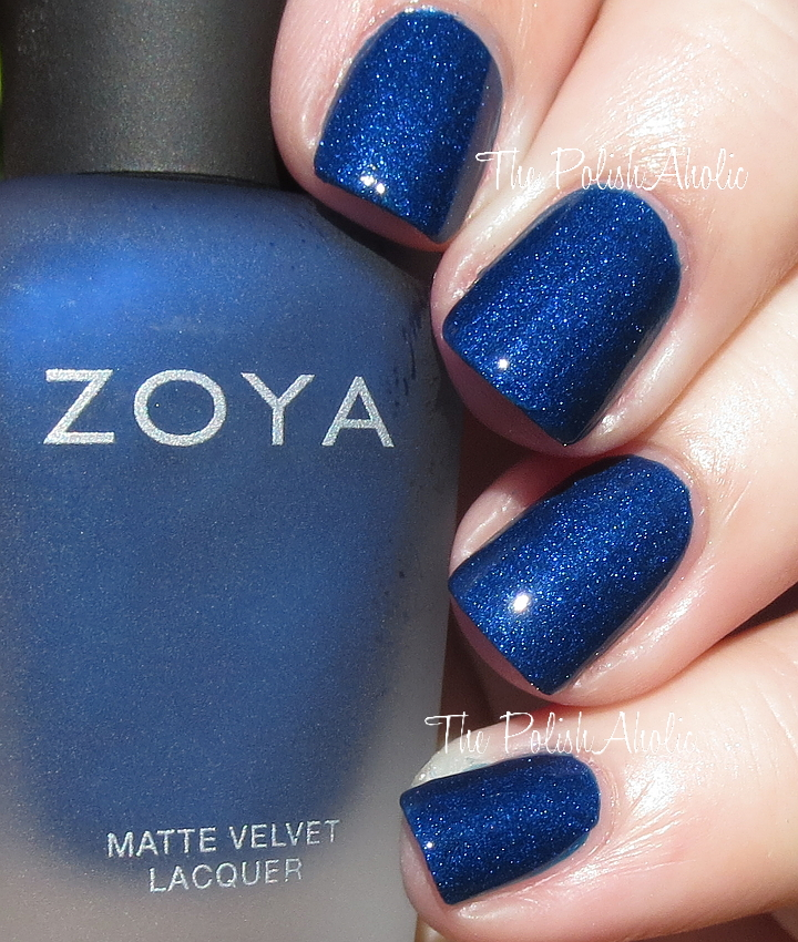The Zoya Winter 2015 Matte Velvet Collection Is Available At Each Polish Retails For 10 They Also Sell A Top Coat I Havent Tried