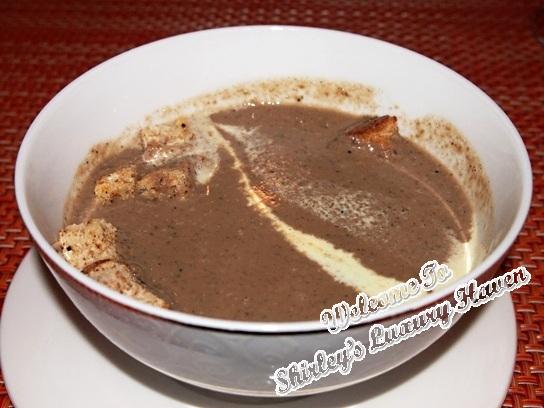 rws palio porcini mushroom soup