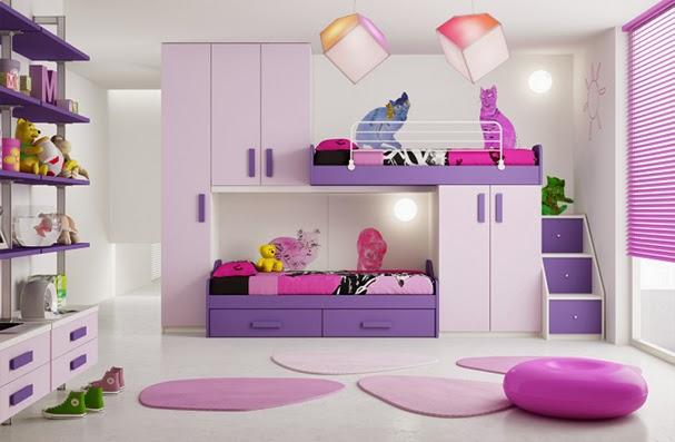 Muebles marron y rosado 20170823135013 - Muebles para cuarto de nina ...