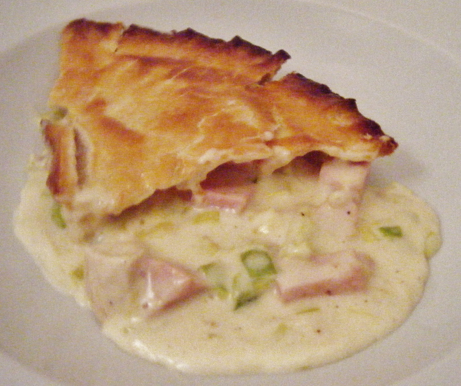 the Best Recipes: Chicken, Ham & Leek Pie