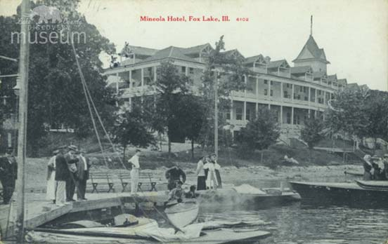 In Recent Months There Has Been Talk Of Razing The Legendary Mineola Hotel Fox Lake This Would Be A Terrible Loss For County S Heritage
