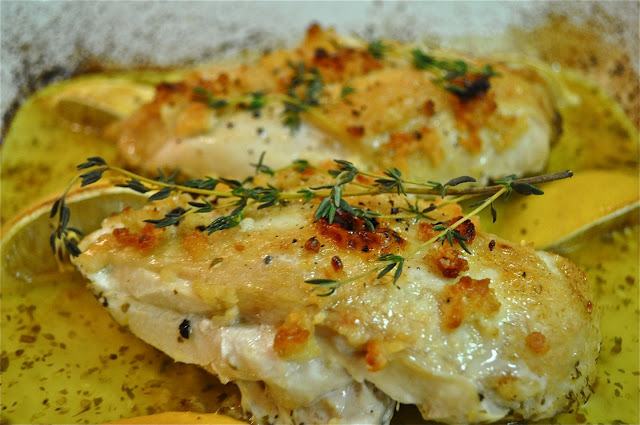 Lemon chicken breast recipe oven