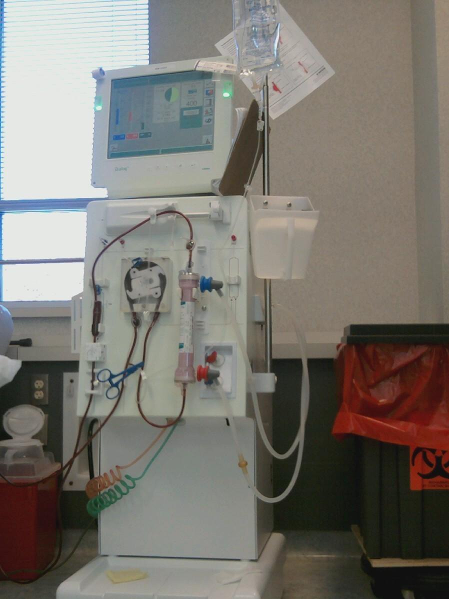 my s blood machine