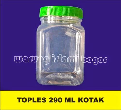Jual Botol Jar Kotak 320ml