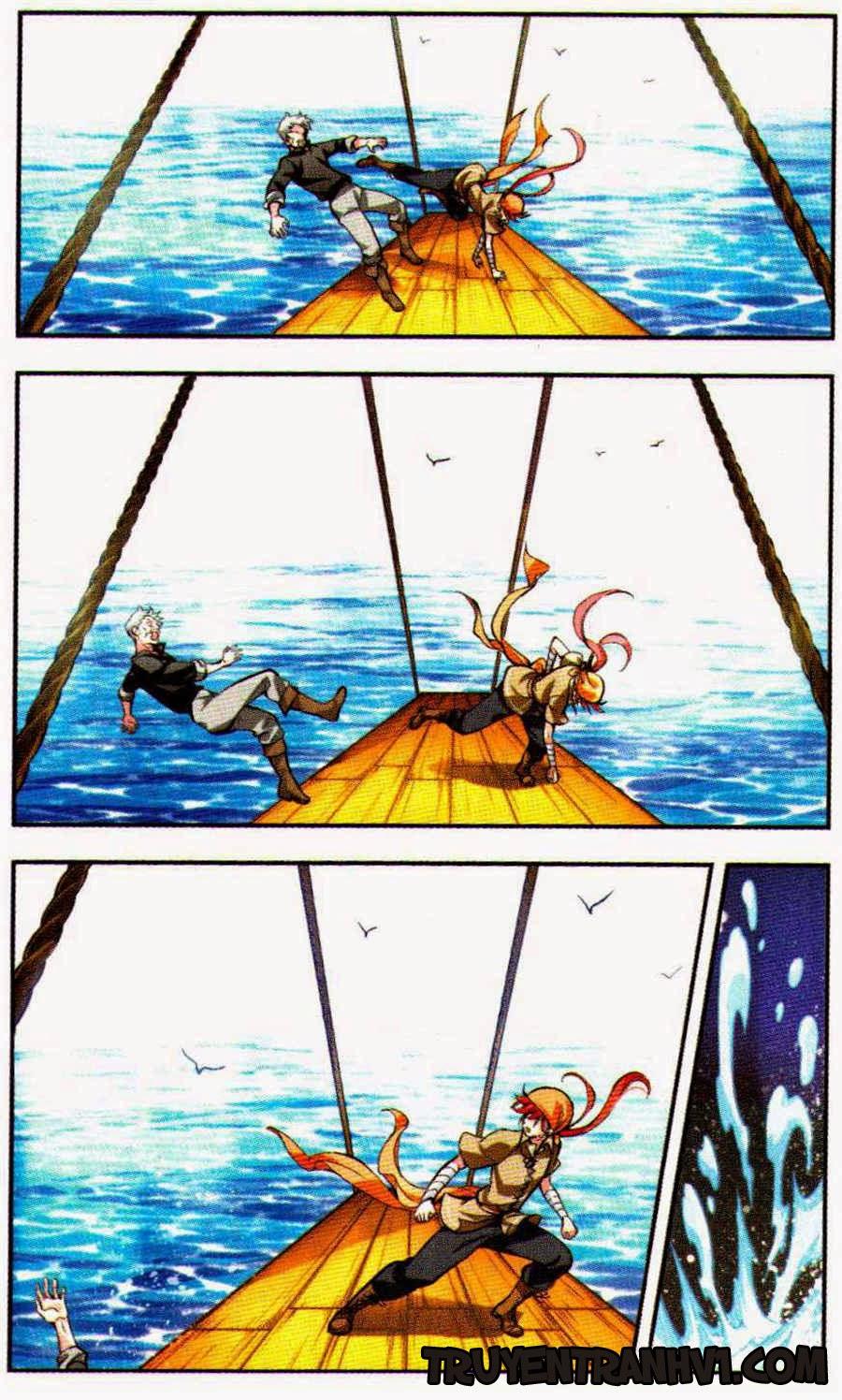 Lưu Luyến Biển Xanh Chap 7