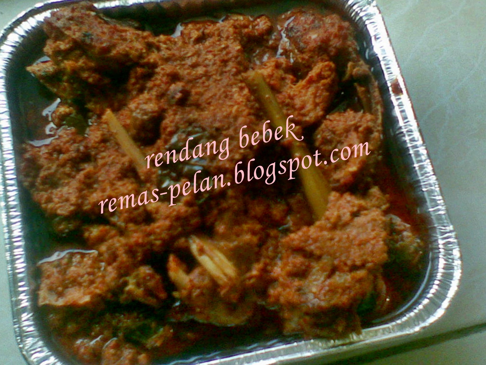 Resep masakan pemula nusantara rendang bebek