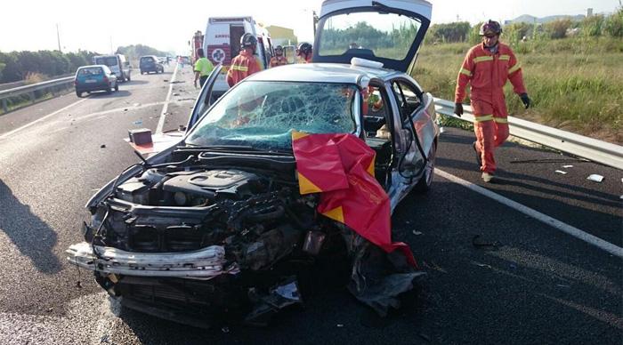 ¿Qué hacer si se sufre un accidente de tráfico?