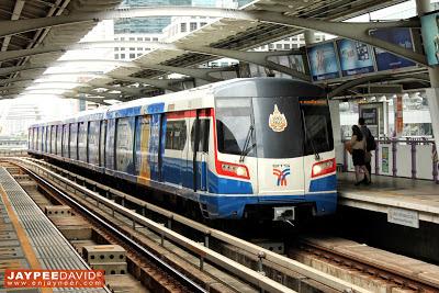Bangkok, Thailand, BKK, BTS Train, Skytrain