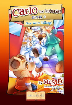 COMING SOON! CARLO THE MOUSE -BOOK 2