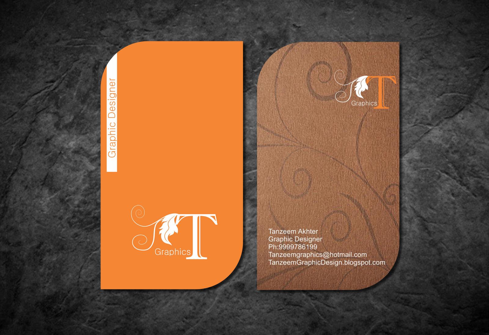 Coreldraw visiting card - Logo Visiting Card In Coreldraw Illustrator