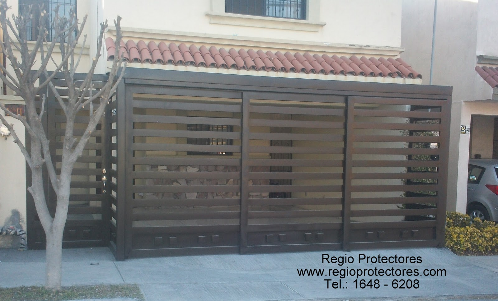 Pin protectores para ventanas puertas principales herreria for Puertas principales de casas