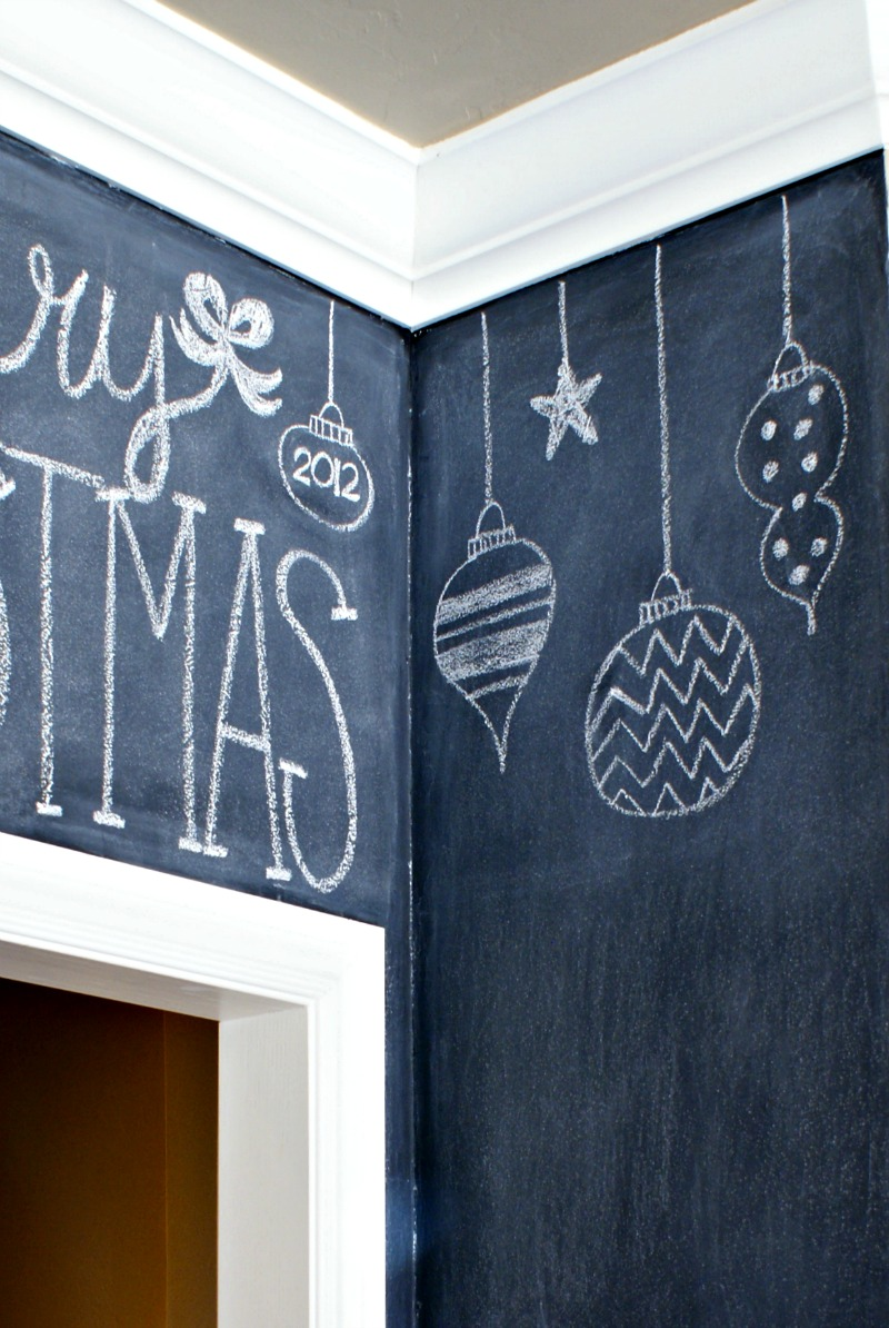 Dimples and Tangles KITCHEN CHALKBOARD WALL