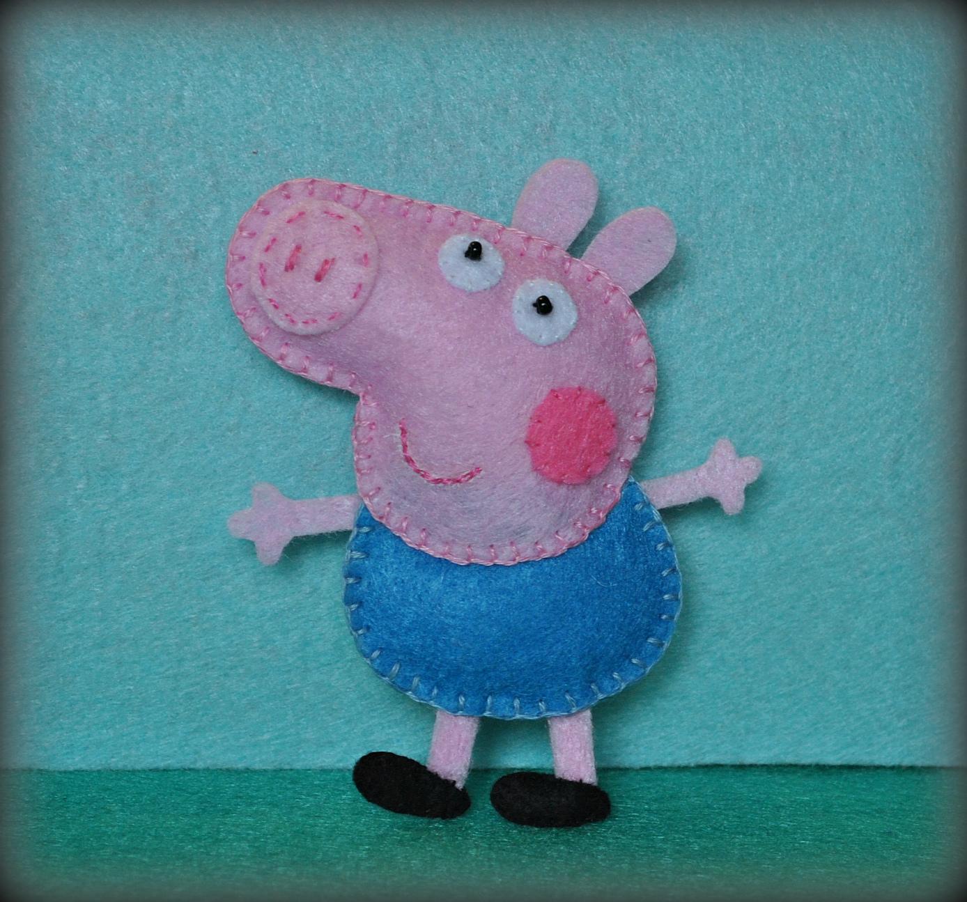 Поделка свинка пеппа своими руками 37