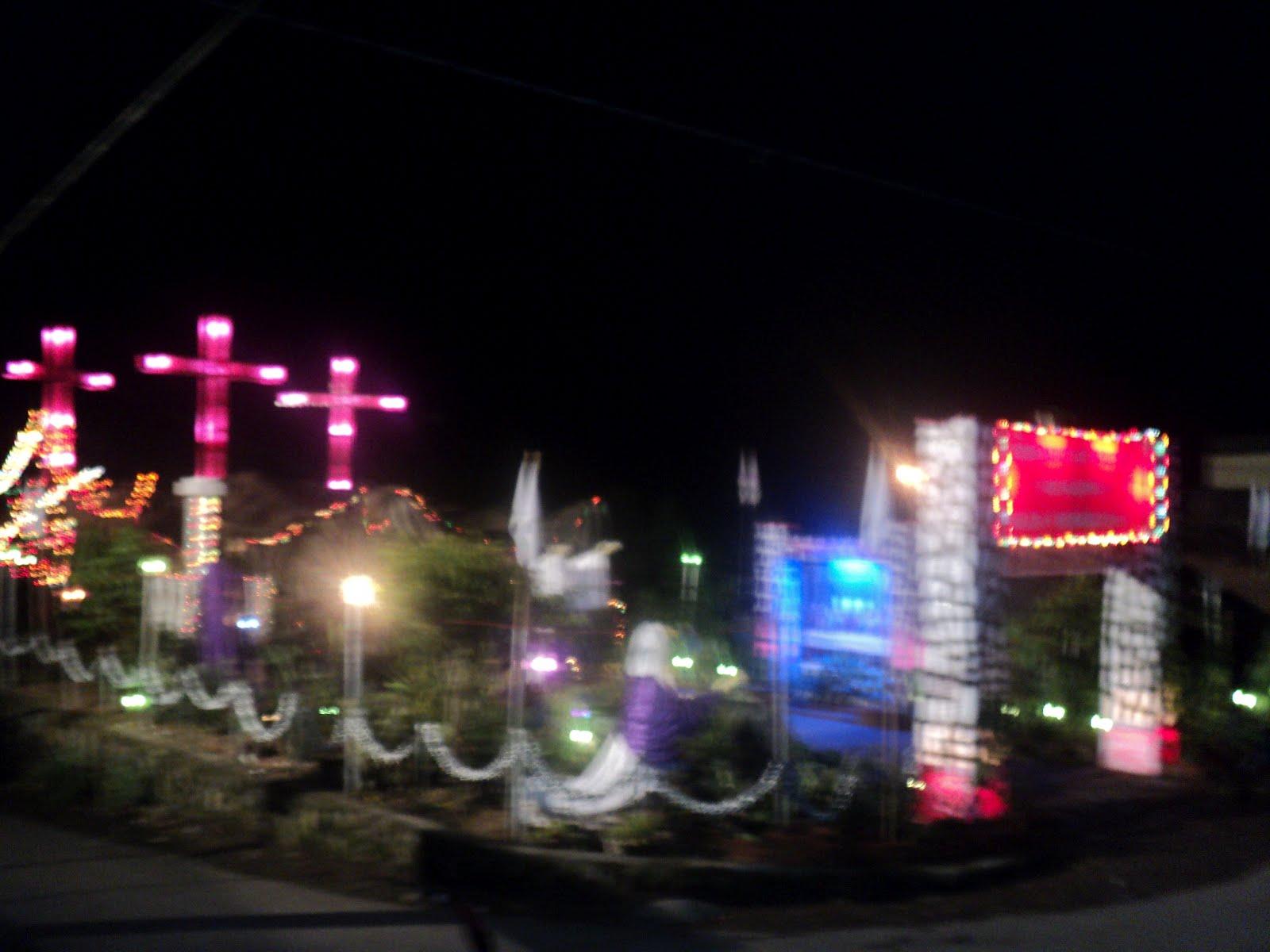 dekorasi taman paskah