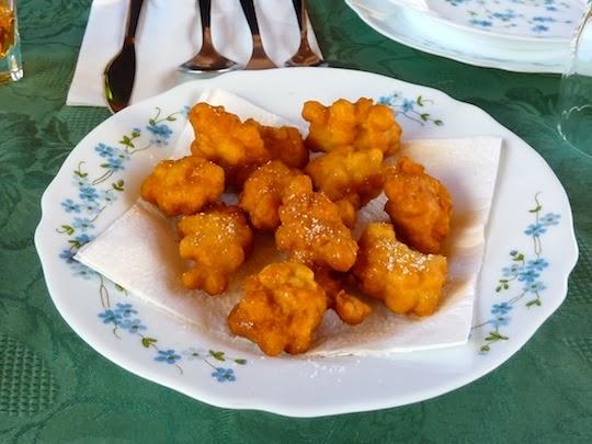 Frittelle di Zucchine dish