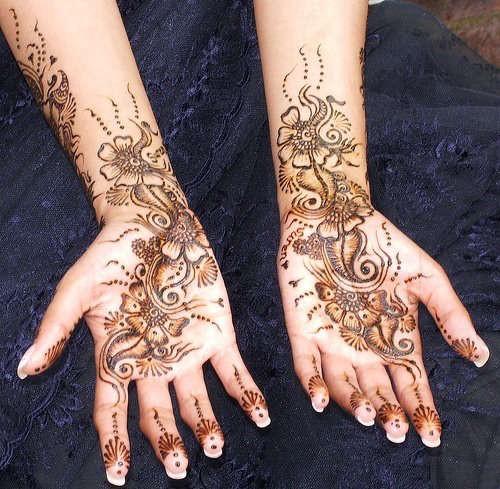 Mehndi Henna Mix : Latest mehndi designs for hands bridal