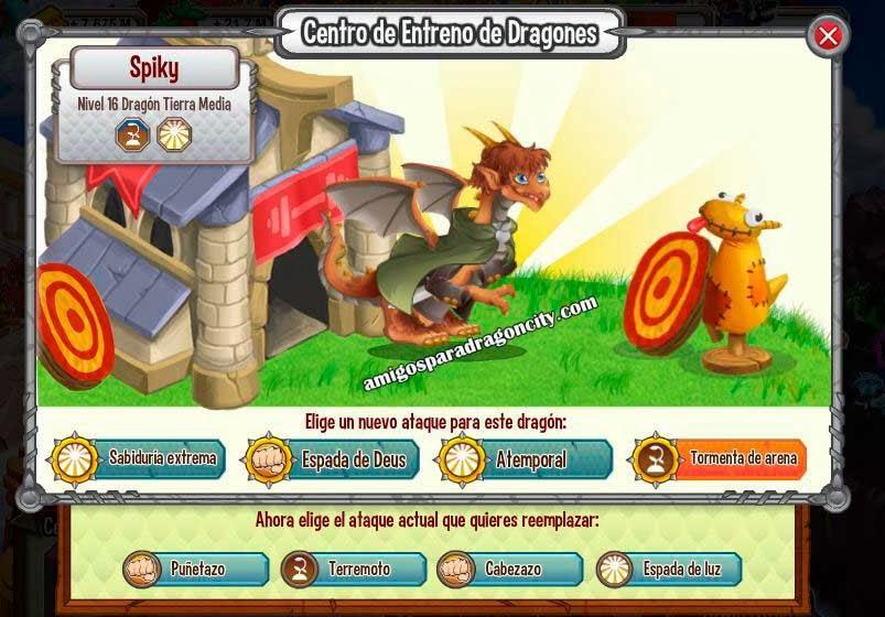 imagen de los ataques del dragon tierra media