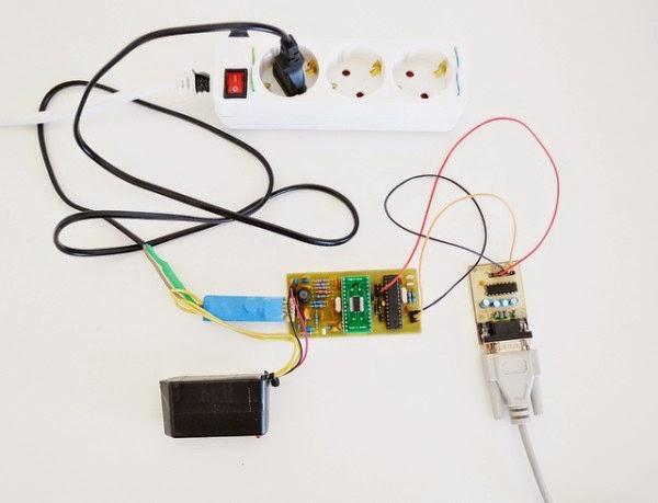 Usando a rede eletrica para envio de dados