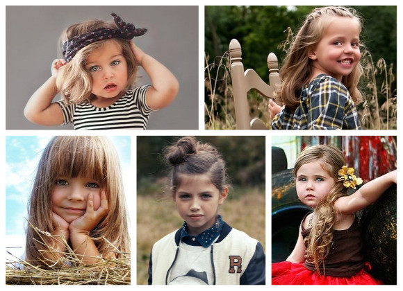 peinados infantiles