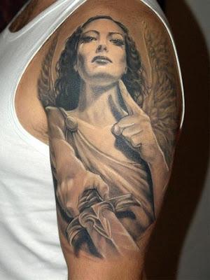 ange tatouage