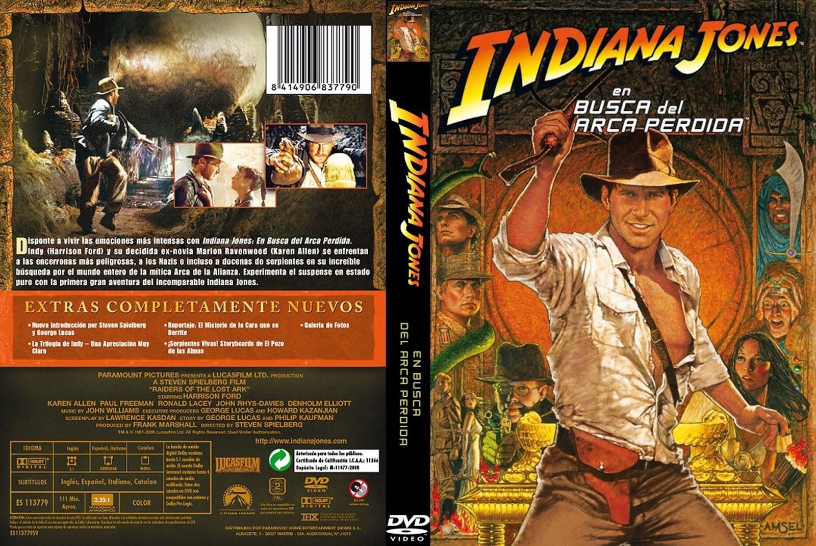 Indiana jones en busca del arca perdida 1981 for En busca del arca perdida