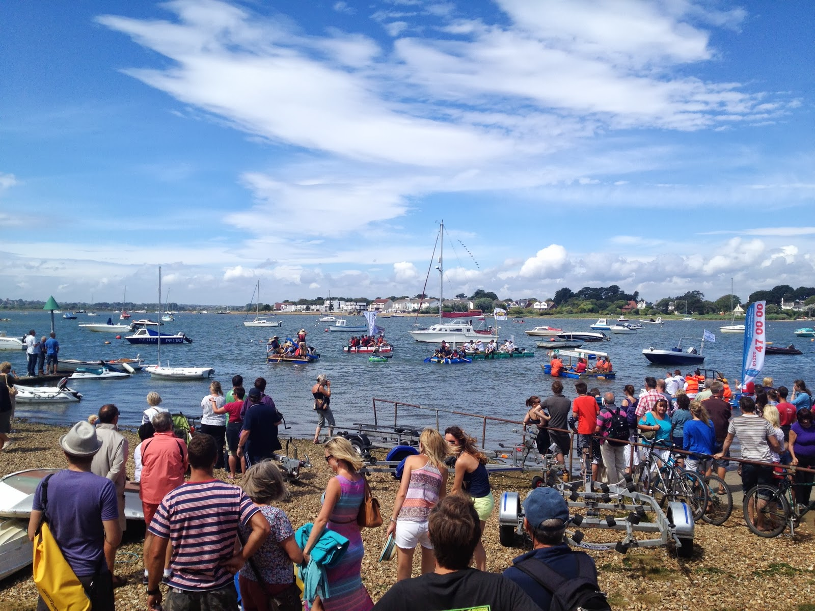Christchurch Harbour Raft Race