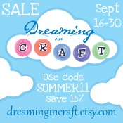 Dreaming in Craft Summer Sale