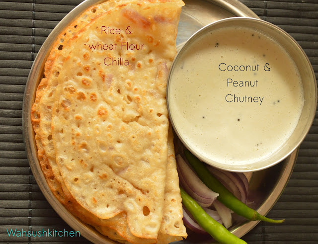 coconut and peanut chutney