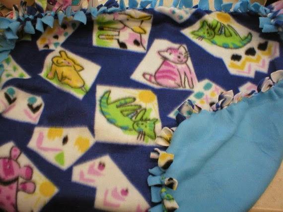 Pet Fleece Blanket Giveaway for Small dog