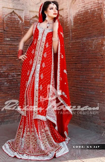 Embroidered Bridal Lehenga Dresses