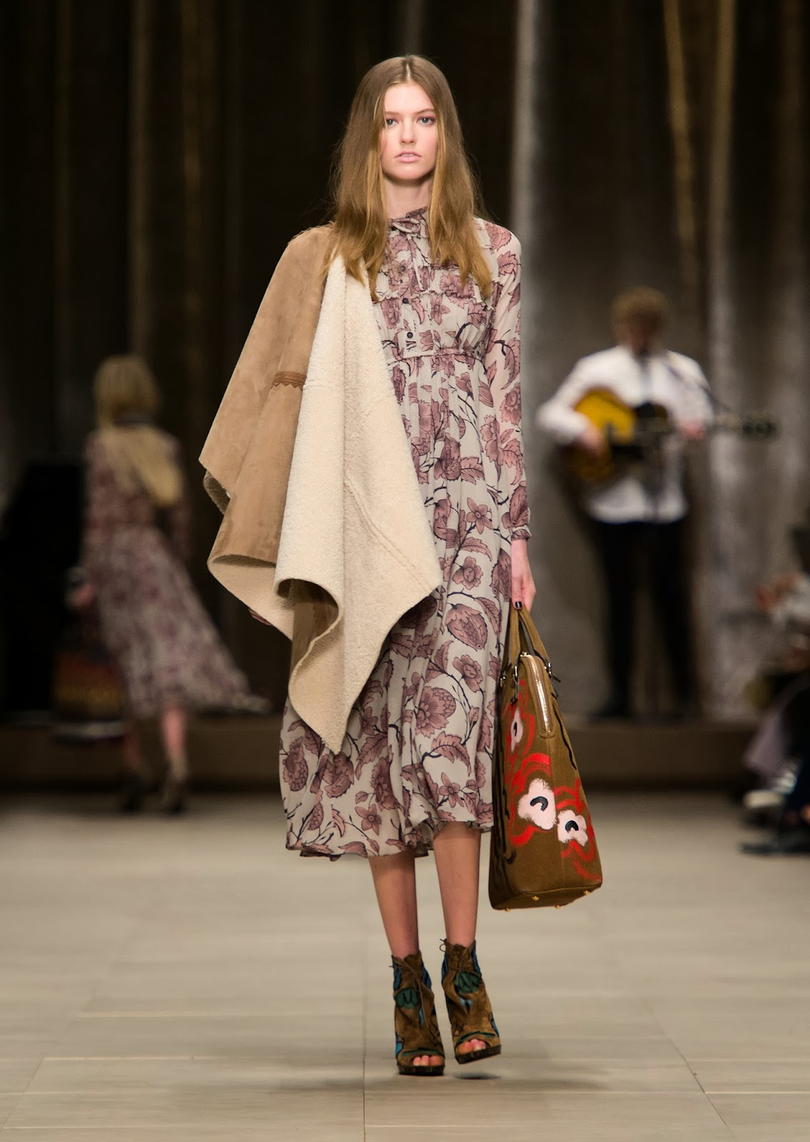 The Bloomsbury Girls  Burberry FW2014 Collection