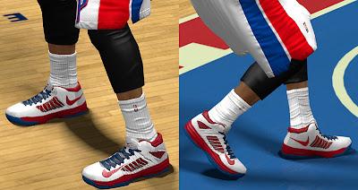 NBA 2K13 Nike Hyperdunk Low Shoes Patch