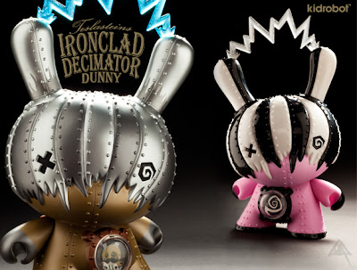 Kidrobot: Ironclad Decimator Dunny by Doktor A - Regular & Mecha Rupture Edition