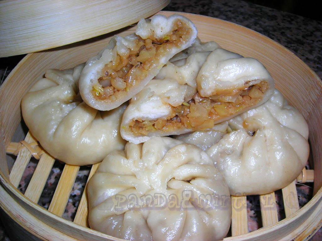 Panda mirtilli baozi panini cinesi al vapore veg for Ricette cinesi