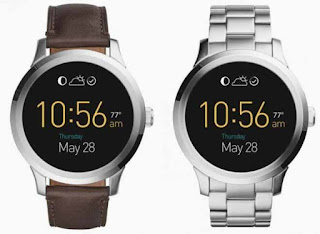 Smartwatch Android Terbaik Prosesor intel; Fossil Q Founder