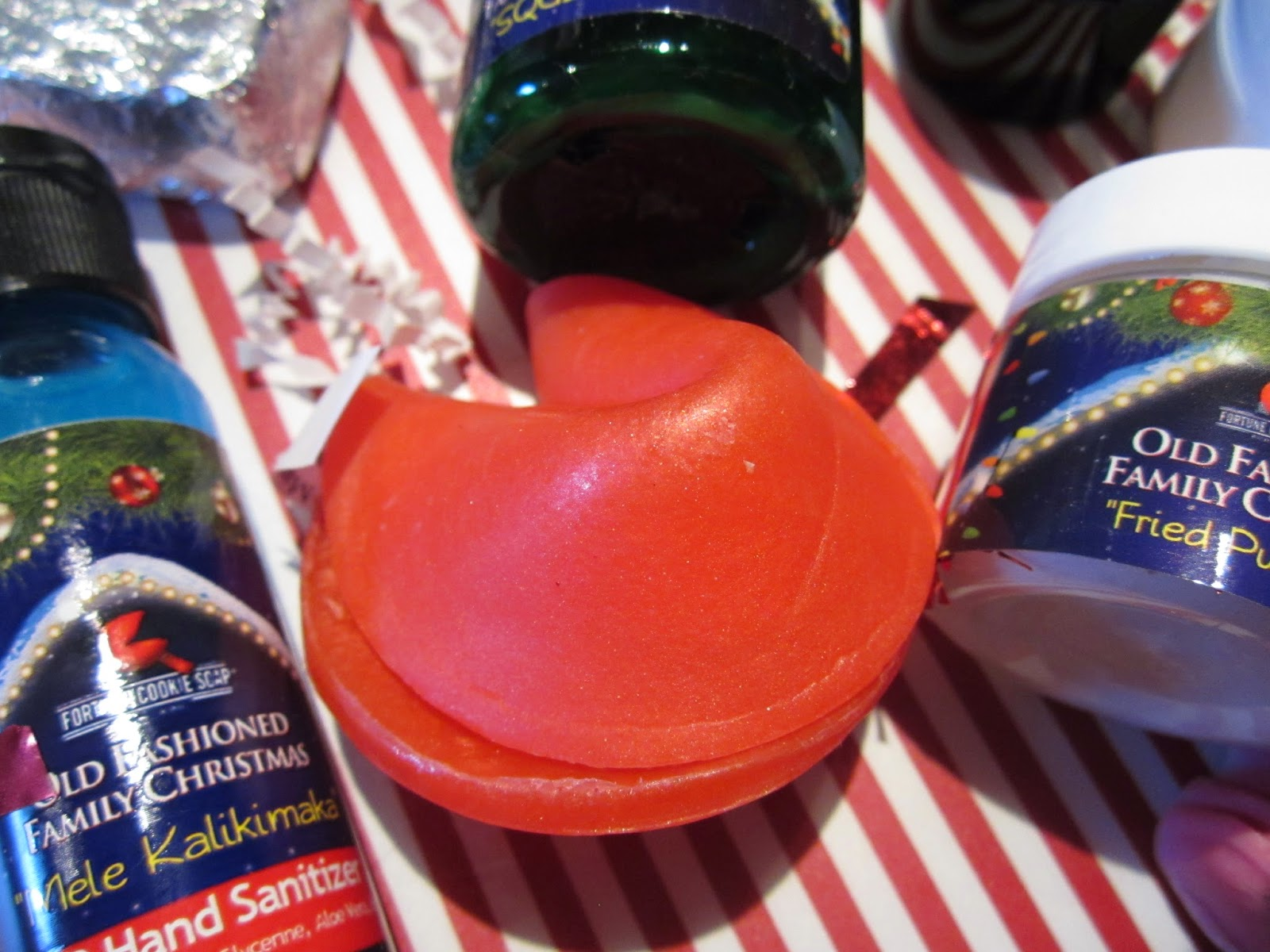 Tis The Season to Be Mary Fortune Cookie Soap  Fortune Cookie Soap 2014 Winter Soap Box