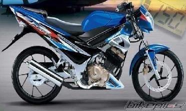 Gambar Motor-Motor Modifikasi Satria FU Terbaru: