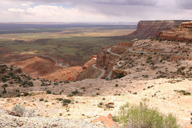 Moki Dugway and the Hawaiian Rolls of Muley Point