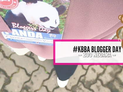 KBBA Blogger Day -  Zoo Negara