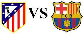 Hasil Pertandingan Atletico Madrid Vs Barcelona 13 Mei 2013