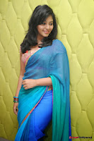 actress anjali hot saree photos at masala telugu movie audio launch+(21) Anjali Saree Photos at Masala Audio Launch
