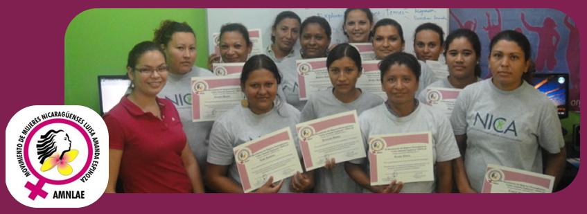 """Amnlae Movimiento de Mujeres Nicaragüenses """"Luisa Amanda Espinoza"""" AMNLAE"""