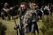 Thorin Oakenshield. Making dwarves look good since. well, since 2012.