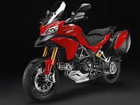 2012 Ducati Multistrada 1200S Touring Gambar Motor 2