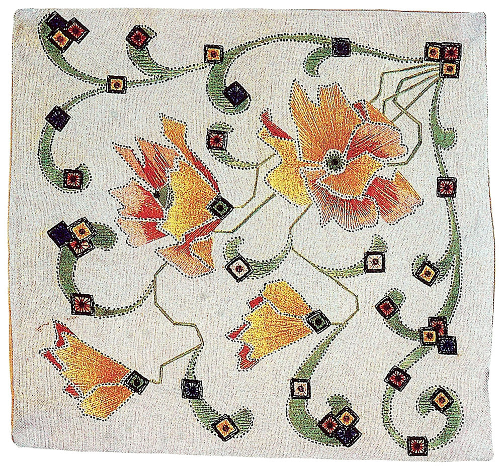 Karyl dokos arts and crafts applique embroidery