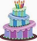 Jolanda's verjaardagscandy