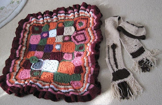 blanket and scarf set