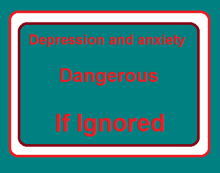Depression and anxiety-Symptoms, how to deal, how dangerous they are